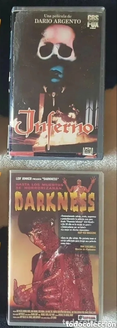 Cine: IMPRESIONANTE LOTE DE 32 PELICULAS VHS DE TERROR CIENCIA-FICCIÓN GORE - PRECIO CHOLLO PUJA!! - Foto 10 - 213444062