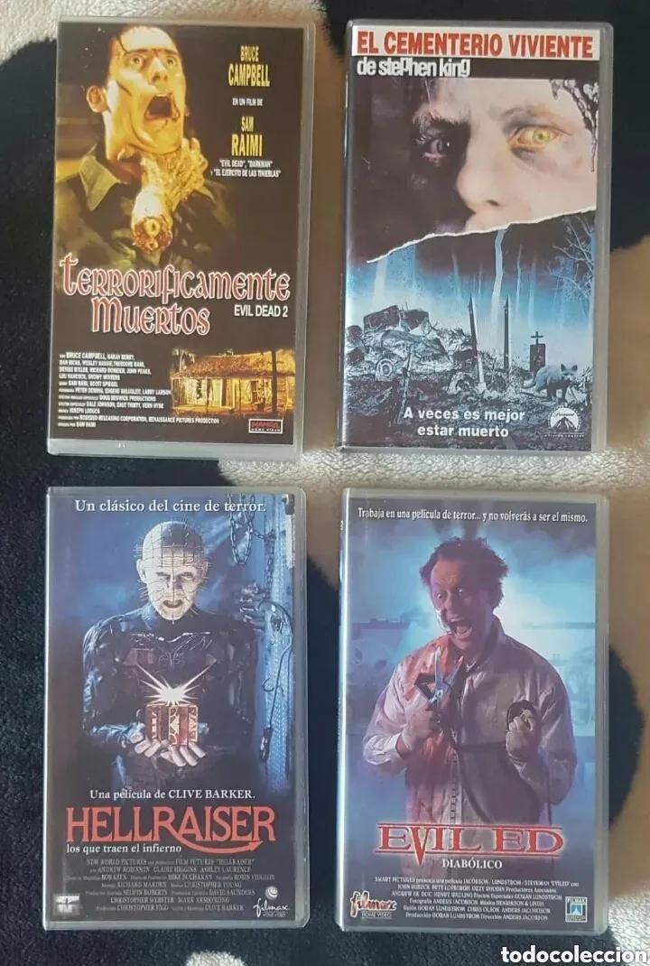 IMPRESIONANTE LOTE DE 32 PELICULAS VHS DE TERROR CIENCIA-FICCIÓN GORE - PRECIO CHOLLO PUJA!! (Cine - Películas - VHS)