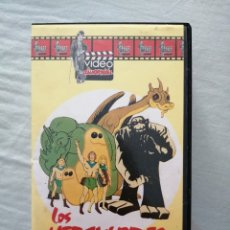 Cine: VHS. LOS HERCULOIDES. HANNA BARBERA. VIDEO DIVERSIÓN.. Lote 213702048