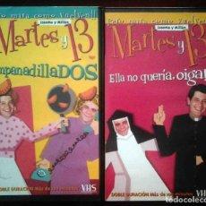 Cine: TODOVHS: EMPANADILLADOS / ELLA NO QUERÍA, OIGA!! (MARTES Y 13). Lote 213830472