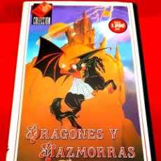 Cine: DRAGONES Y MAZMORRAS (1983) - DUNGEONS & DRAGONS - CAP 10,11 Y 12. Lote 213997257