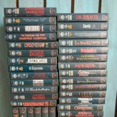 Cine: LOTE 38 CINTAS VHS DE TERROR PLANETA DE AGOSTINI. Lote 214252508