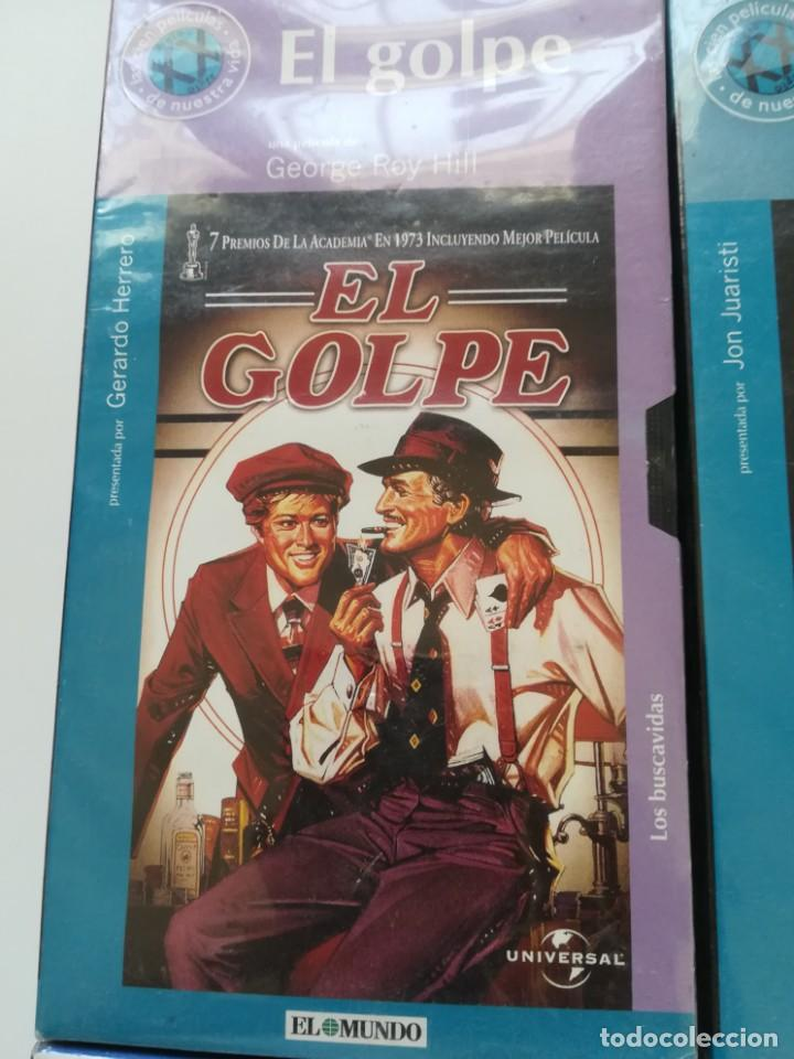 Cine: Lote 4 VHS nuevos. Titanic, el golpe, la túnica sagrada, Fahrenheit 451 - Foto 5 - 214374356