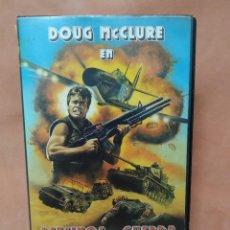 Cine: ASESINOS DE GUERRA - VHS. Lote 214591086