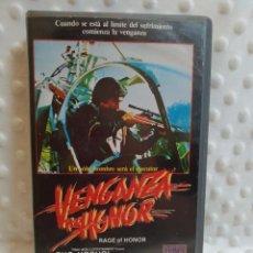 Cine: VENGANZA POR HONOR - VHS. Lote 215048232