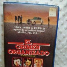 Cine: EL CRIMEN ORGANIZADO - VHS. Lote 215048260