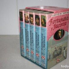 Cine: LOTE DE CINTAS VHS DE FORTUNATA Y JACINTA.. Lote 215092701