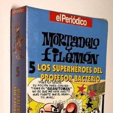 Cine: MORTADELO Y FILEMON NUMERO 5 LOS SUPERHÉROES DEL PROFESOR BACTERIO *** PRECINTADA. Lote 215298126