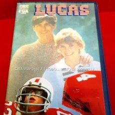Cine: LUCAS (1986) CHARLIE SHEEN, WYNONA RYDER - MUY ESCASA. Lote 216630543