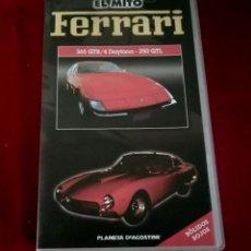 Cine: EL MITO FERRARI - L350 GTB/4 DAYTONA - 250 GTL -VHS. Lote 217045622