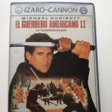 Cine: EL GUERRERO AMERICANO II VHS. Lote 217132403