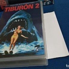 Cine: VHS ( TIBURON 2 ) UNIVERSAL - NUEVA. Lote 217143770
