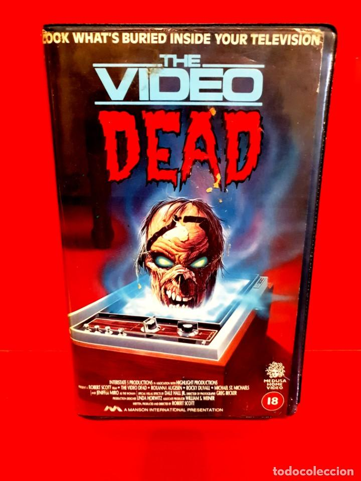 Cine: THE VIDEO DEAD (1987) - LA MUERTE VIAJA EN VIDEO EN V.O. RARÍSIMA Coleccionistas Zombies - Foto 1 - 217178327