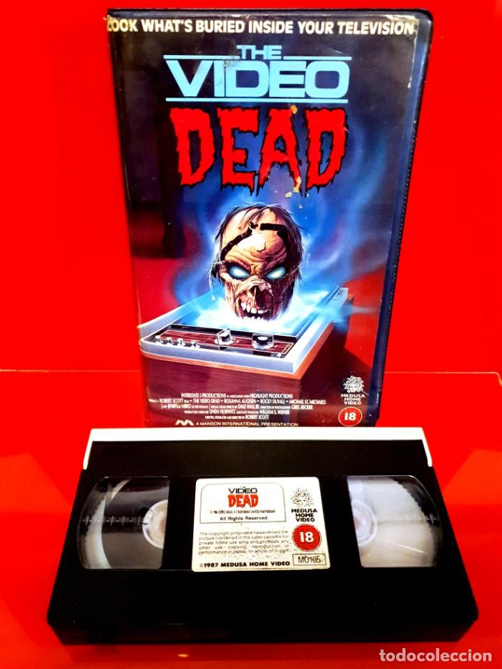 Cine: THE VIDEO DEAD (1987) - LA MUERTE VIAJA EN VIDEO EN V.O. RARÍSIMA Coleccionistas Zombies - Foto 3 - 217178327
