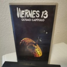 Cine: VHS VIERNES 13 CAPITULO FINAL. Lote 217473586