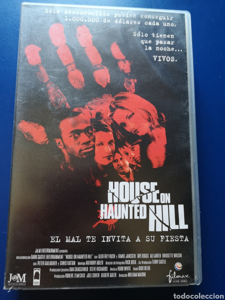 Cine: Película VHS House On Haunted Hill - Foto 1 - 217606020