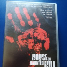 Cine: PELÍCULA VHS HOUSE ON HAUNTED HILL. Lote 217606020