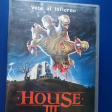Cine: HOUSE III VHS. Lote 217606946