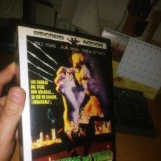 Cine: VHS: LAS GARRAS DEL TIGRE (1991). Lote 217820808