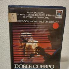 Cinema: VHS DOBLE CUERPO 1EDICION. Lote 218149035