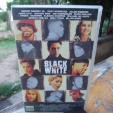 Cine: BLACK AND WHITE - JAMES TOBACK - ROBERT DOWNEY , OLI GRANT - COLUMBIA 2001. Lote 218336996