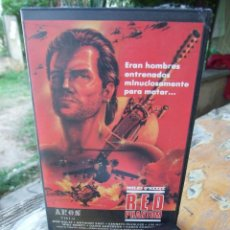 Cine: RED PHANTOM - SONNY SENDERS - MILES O'KEEFE , DON HOLTZ - AROS 1988. Lote 218338602