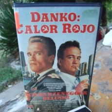 Cine: DANKO: CALOR ROJO - WALTER HILL - ARNOLD SCHWARZENEGGER , JAMES BELUSHI - CIC 1989. Lote 218385533