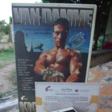 Cine: KICKBOXER - MARK DISALLE - VAN DAMME , DENNIS CHAN , DENNIS ALEXIO - FILMAYER 1990. Lote 218385970