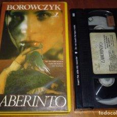 Cine: LABERINTO. DOCTOR JECKYLL Y LAS MUJERES - BOROWCZYK, UDO KIER - TERROR - SUSPENSE - VHS - RAREZA. Lote 218491490