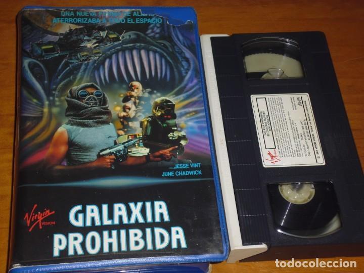 GALAXIA PROHIBIDA - JESSE WINT, JUNE CHADWICK - TERROR / SCFI - VHS (Cine - Películas - VHS)
