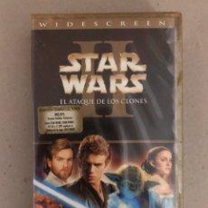 Cine: VHS STAR WARS II - EL ATAQUE DE LOS CLONES (PRECINTADO). Lote 219036210