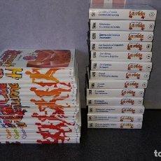 Cine: LOTE 13 CINTAS VHS ERASE UNA VEZ LA VIDA Y 37 LIBROS ERASE UNA VEZ EL CUERPO HUMANO. Lote 219093203