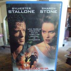 Cine: EL ESPECIALISTA - LUIS LLOSA - SYLVESTER STALLONE , SHARON STONE - WARNER 1994. Lote 219181207