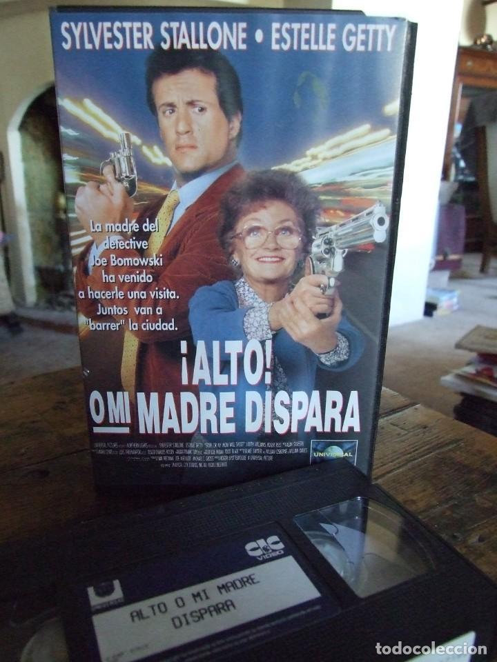ALTO O MI MADRE DISPARA - ROGER SPOTTISWOODE - SYLVESTER STALLONE , ESTELLE GETTY - CIC 1992 (Cine - Películas - VHS)