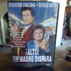 Cine: ALTO O MI MADRE DISPARA - ROGER SPOTTISWOODE - SYLVESTER STALLONE , ESTELLE GETTY - CIC 1992. Lote 219181252