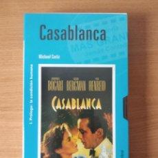 Cine: COLECCIÓN EL MUNDO (4): CASABLANCA. Lote 219390336
