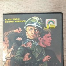 Cinéma: VHS - LOS LEOPARDOS DE CHURCHILL - RICHARD HARRISON, KLAUS KINSKI, HELGA LINÉ, MAURIZIO PRADEAUX. Lote 219832390