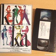 Cine: KIKA · PELÍCULA VHS · DE PEDRO ALMODÓVAR CON VERÓNICA FORQUÉ, PETER COYOTE, VICTORIA ABRIL. Lote 219878242