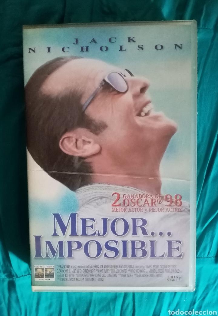 Cine: VHS Película 1997. Mejor Imposible. James L. Brooks,. Jack Nicholson, Helen Hunt - Foto 2 - 219909545
