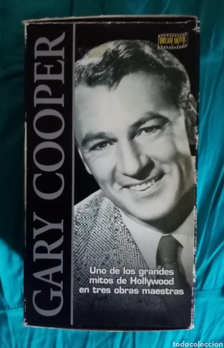 VHS PACK 3 OBRAS MAESTRAS DE GARY COOPER. ADIÓS A LAS ARMAS , JUAN NADIE, SÓLO ANTE EL PELIGRO (Cine - Películas - VHS)