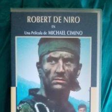 Cine: VHS PELÍCULA 1978. EL CAZADOR. MICHAEL CIMINO. ROBERT DE NIRO, CHRISTOPHER WALKEN, JOHN CAZALE. Lote 219913550