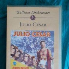 Cine: VHS PELÍCULA 1953. JULIO CÉSAR. JOSEPH L. MANKIEWICZ. MARLON BRANDO, JAMES MASON. Lote 219917477