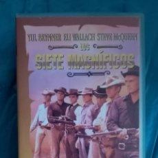 Cine: VHS PELÍCULA 1960. LOS SIETE MAGNÍFICOS. JOHN STURGES. YUL BRYNNER, STEVE MCQUEEN, CHARLES BRONSON. Lote 219917870