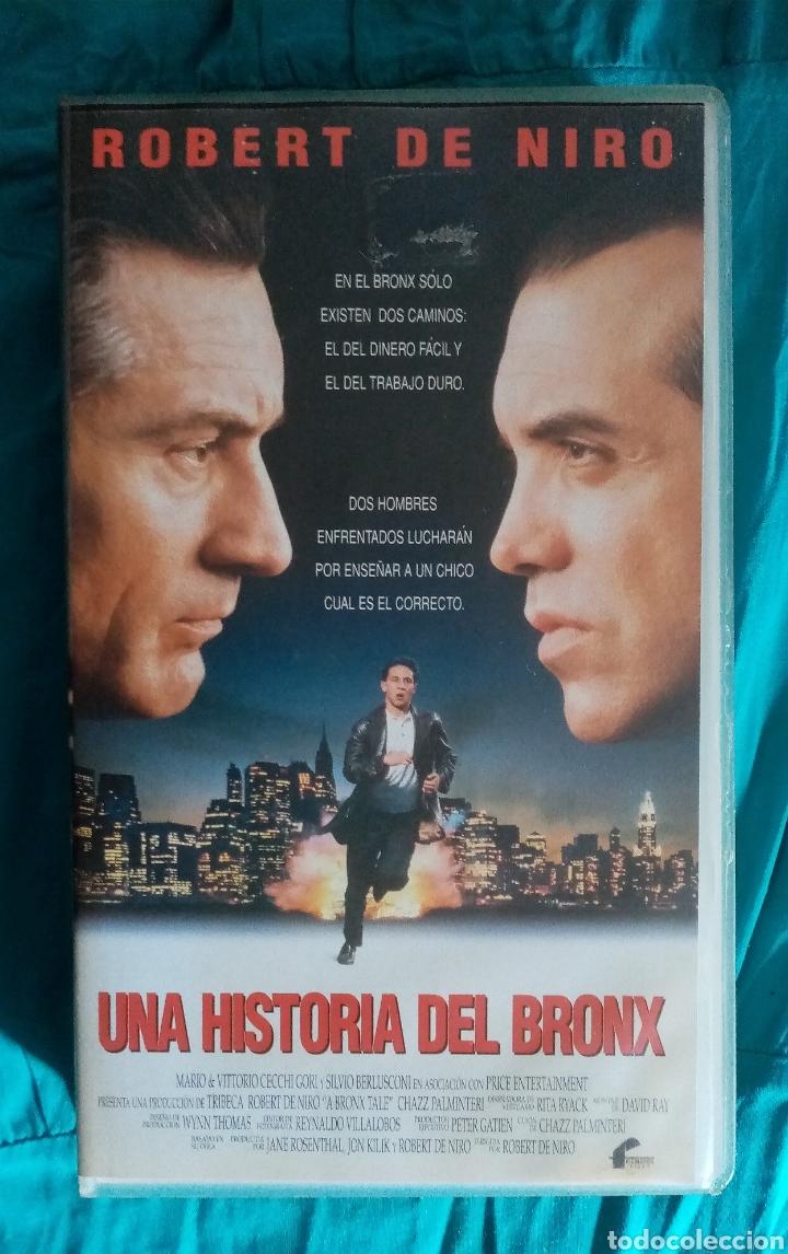 VHS PELÍCULA 1993. UNA HISTORIA DEL BRONX. ROBERT DE NIRO. CHAZZ PALMINTERI, LILLO BRANCATO. (Cine - Películas - VHS)