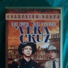 Cine: VHS PELÍCULA 1954. VERA CRUZ. ROBERT ALDRICH. BURT LANCASTER, GARY COOPER., SARA MONTIEL. Lote 219965580