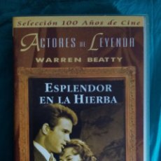 Cine: VHS PELÍCULA 1961. ESPLANDOR EN LA HIERBA. ELIA KAZAN. WARREN BEATTY, NATALIE WOOD. Lote 219967013