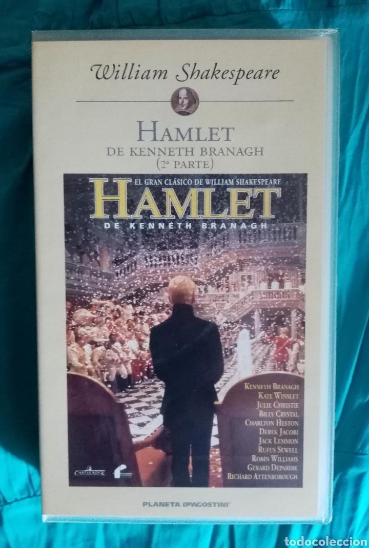 Cine: VHS Película 1990. Hamlet. Franco Zeffirelli. Mel Gibson, Glenn Close, Helena Bonham Carter - Foto 2 - 219967763