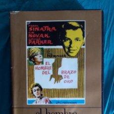 Cine: VHS PELÍCULA 1967. EL HOMBRE DEL BRAZO DE ORO. OTTO PREMINGER. KIM NOVAK, FRANK SINATRA,. Lote 219974221