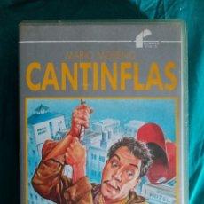 Cine: VHS PELÍCULA 1955. CANTINFLAS. ABAJO EL TELÓN. MIGUEL M. DELGADO. CANTINFLAS, CHRISTIANE MARTEL,. Lote 219978423