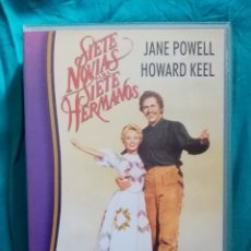 Cine: VHS PELÍCULA 1954. SIETE NOVIAS PARA SIETE HERMANOS. STANLEY DONEN. HOWARD KEEL, JANE POWELL,... Lote 219984722